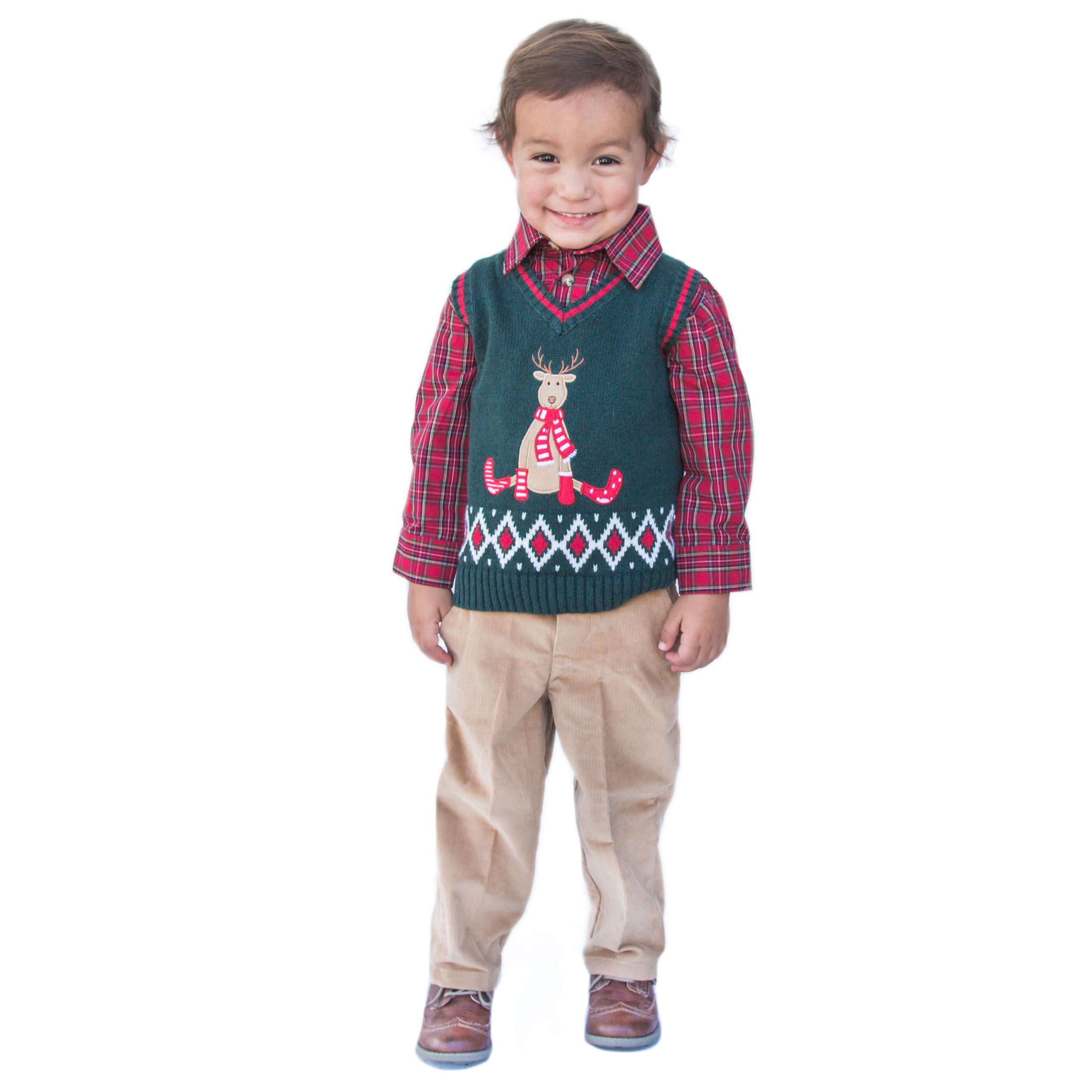Good Lad Newborn//Infant Boy Blue Seersucker Smocked Shortall Set with Nautical Embroideries